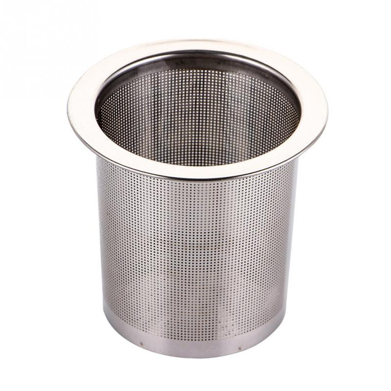 Stainless Steel Tea Infuser Silver Mesh Kitchen Accessories Safe Density Reusable Tea Strainer Herb Tea Tools Accessories #137