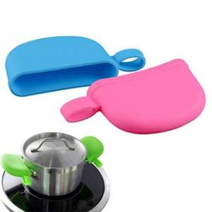 Holding-Knob-Pot Lid-Cover Kitchen-Accessories Anti-Skid Silicone Heat-Resistant 2pcs/Set