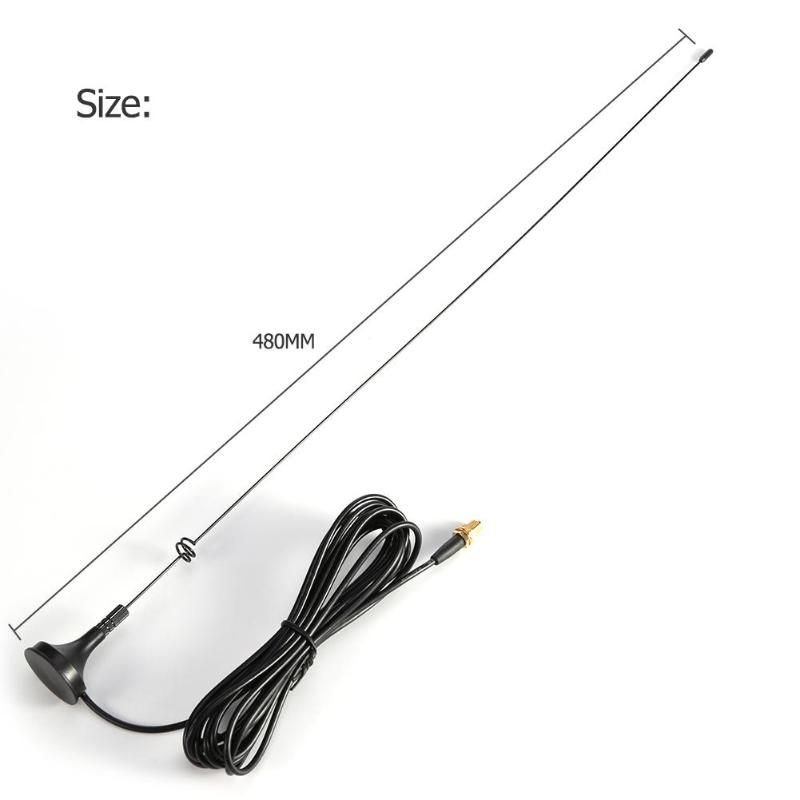 SMA-F Female Magnet Gain CB Radio Car UHF VHF Ham Antenna NAGOYA UT-108UV For BAOFENG UV-5R UV-82 Wouxun Kenwood Walkie Talkie