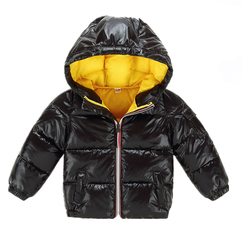 1af0d5757772c Girls Winter jacke Kids Coats Boys down jacket coat Warm Children's Hooded  Outerwear Coat Baby boys girls parka kids clothes