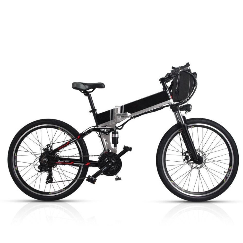 Nouveauté Double batterie Lg 100-150 km longue portée vélo électrique de montagne Style Suspension complète E vélo