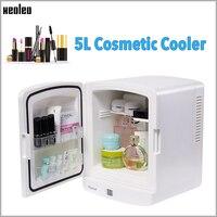 Xeoleo 5L Cosmetic Cooler Freecool for cosmetic Car fridge vertical Mini refrigerator Cosmetics Reefer Beauty Cooler box