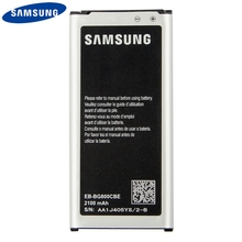 Original Replacement Phone Battery EB-BG800CBE For Samsung GALAXY S5 mini SM-G800F G870A G870W S5mini Authenic Battery 2100mAh стоимость