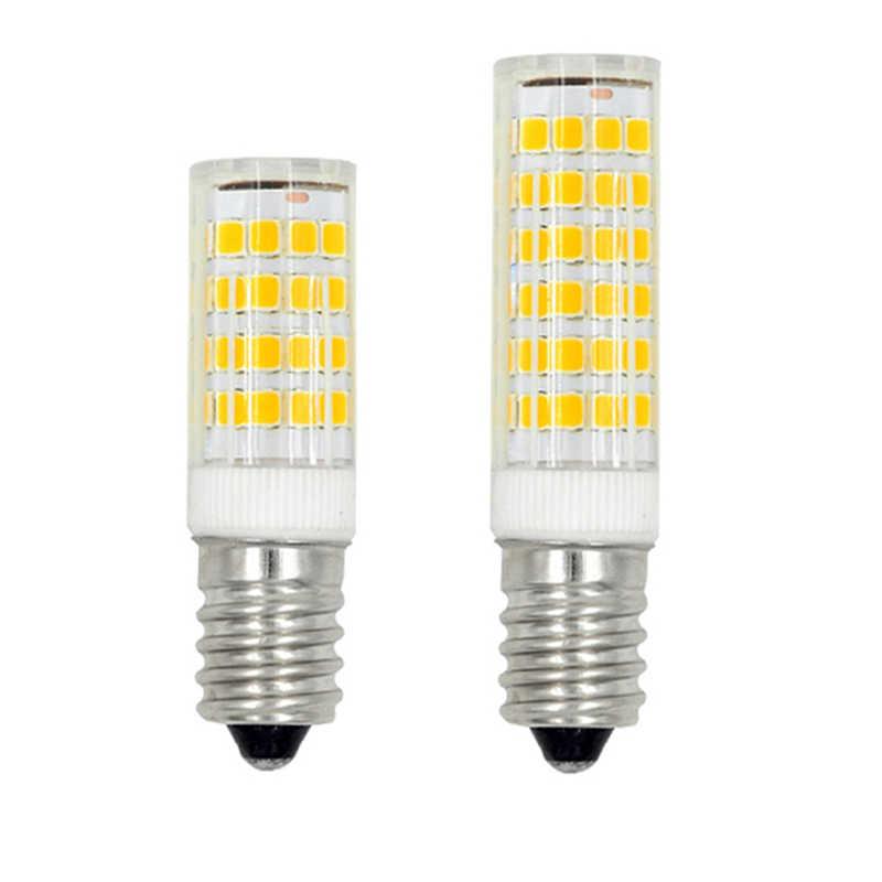Mini lámpara LED E14 5W 7W 9W candelabro lampara AC220V 230V luz LED SMD2835 lámpara de maíz colgante de pared refrigeradora lámparas
