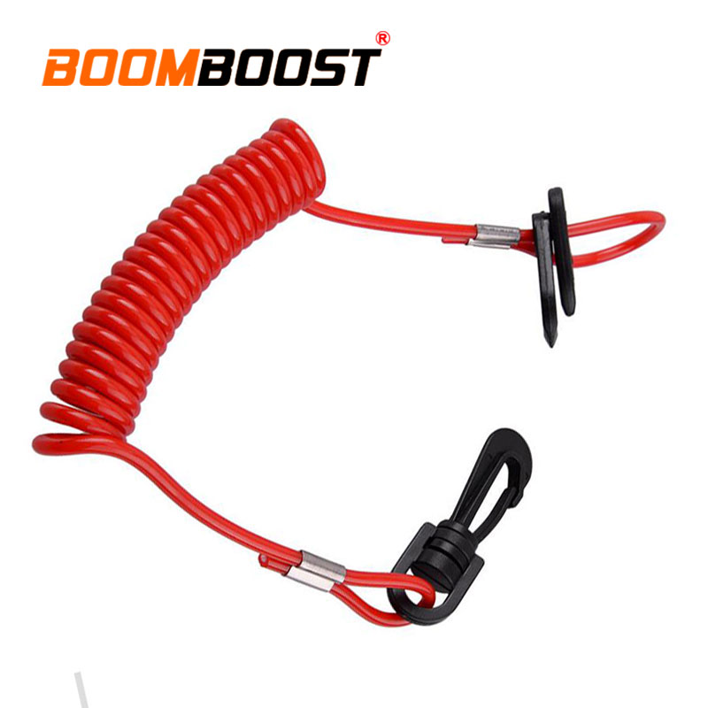 Marine Hardware Citall Car Motorboat Kill Switch Key Lanyard Tether Cord Surfing Spring Rope Fit For Honda Yamaha Mercury Johnson Evinrude Boat Parts & Accessories