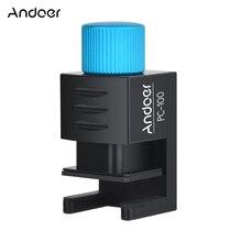 Andoer PC 100 調節可能な金属ミニ携帯電話三脚アダプタ電話ホルダー iphone サムスン Huawei 社 Xiaomi 高品質