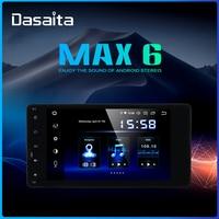 Dasaita 7 Android 9.0 universal Car 2 din radio for Mitsubishi Lancer Outlander Pajero ASX triton TDA7850 Car Stereo Bluetooth