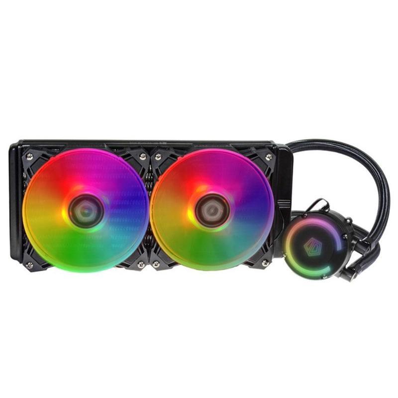 Ventilateur cpu refroidisseur d'eau radiateur mis à niveau RGB lumière classique rond bloc d'eau remplissage Type 240 radiateur en aluminium pour Intel/AMD