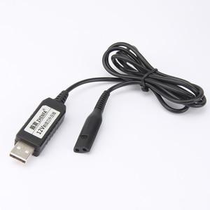 Image 4 - Cable de carga USB de 12v para afeitadoras Braun, adaptador de corriente para depiladora Braun Silk Epil 5 y 7, maquinilla de afeitar 5210 5377 5375 5412
