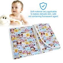 edc577398 1 piezas bebé recién nacido bebé pañales colchón de la cuna reutilizable  impermeable hoja cambio Mat transpirable de pañal Mat