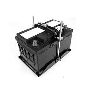 Image 2 - Универсальный Металлический регулируемый держатель аккумулятора стабилизатор крепление стеллаж для хранения фиксированный кронштейн стойка автомобильный 19/23/27 см