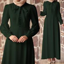 Celmia Female Elegant Ankle-length Dress Maxi Dress Muslim Women Islamic  Robe Kaftan Evening Party Vestidos 2019 Plus Size Dress 1dee1ef48ea3