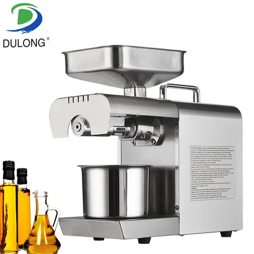 Mini vis presse à froid machine à huile extracteur d'huile de noix petite machine de presse à huile de noix de coco machine de moulin à huile de graine végétale
