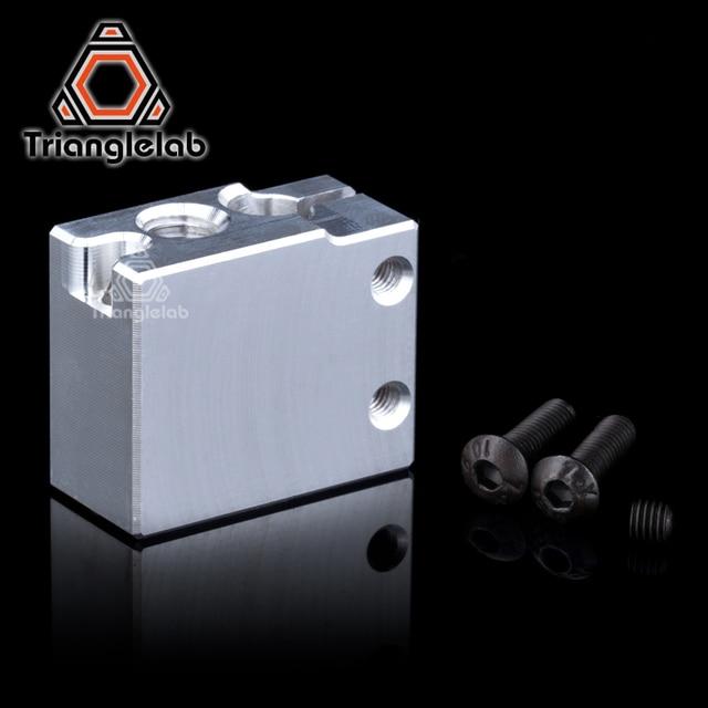 Volcano heater block for e3D Volcano hotend Compatible pt100 sensor/Thermistor Cartrodge 3D printer upgrade kit diy i3 delta um