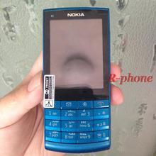 מכירה לוהטת זול טלפון X3 02 מקורי נוקיה X3 02 נייד טלפון 3G Quad Band WiFi 5MP טלפונים סלולריים