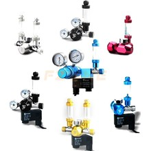 Chihiros Wyin Aquarium CO2 Regulator Solenoid Valve With Needle Fine Tune And Check Bubble Counter Fix Accessories Tools