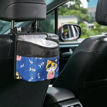 Car Trash Bag Litter Garbage Organizer Dustbin Auto Back Seat Holder Travel Storage Hanger For Capacity