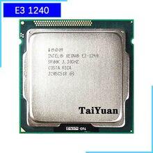 Processador de cpu 8 m 80 w lga E3-1240 intel xeon 1240 e3 3.3 1155 ghz quad-core