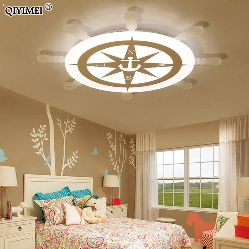 New Arrival led ceiling lights lamp with Remote control for boy girl bedroom study room baby