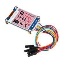Nuevo módulo de papel electrónico de pantalla de tinta electrónica de 1,54 pulgadas rojo/negro/blanco SPI compatible con actualización parcial para Arduino para Raspberry Pi