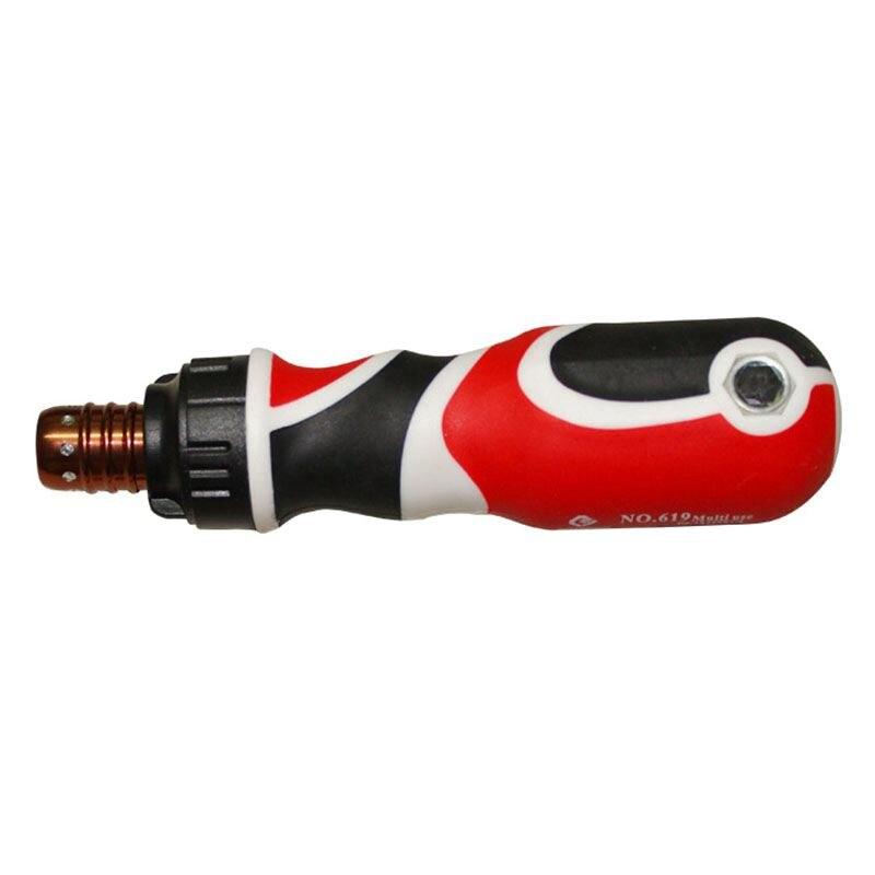 PENGGONG 1Pc Screwdriver Adjustable Screwdriver Bits Telescopic Ratchet Screwdriver Magnetic Multitul Repair Hand Tools