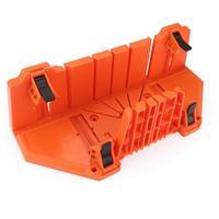 البلاستيك 14 بوصة حالة النجارة لقط منشار ميتري صندوق أدوات القطع 0/22. 5/45/90 درجة كتلة منشار قطع منشار    -