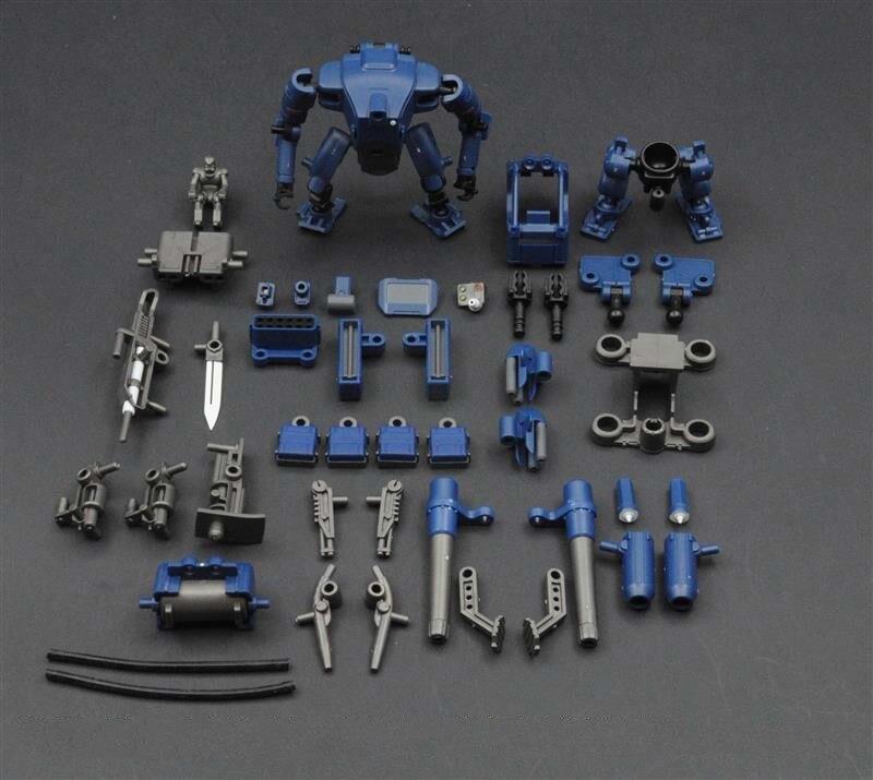 1/60 Scale Model Robotics Kits Assault Squad Mech Plastic Model Kit DIY Hobby Assembly Toy Free Shipping