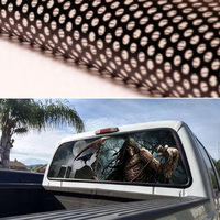 165x56cm Rear Window Graphic Decal Tint Car Sticker for TRUCK SUV JEEP