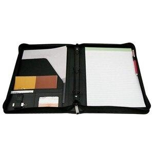 Image 2 - Лидер продаж, папка для конференций, кольцо кошелек из искусственной кожи, держатель A4 для деловых встреч, бизнеса