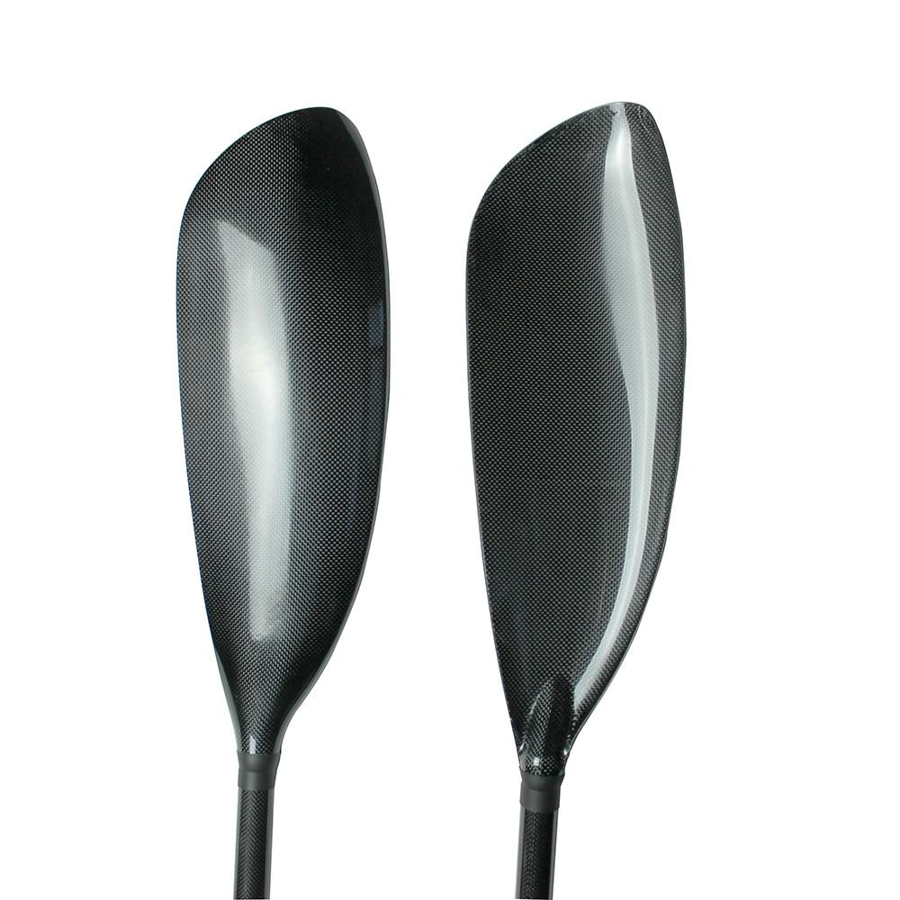 High Quality Carbon Kayak Paddle Bracsa IV Blade With Aluminium Adjustor, Oval Shaft 10cm Length And Free Bag-Q03