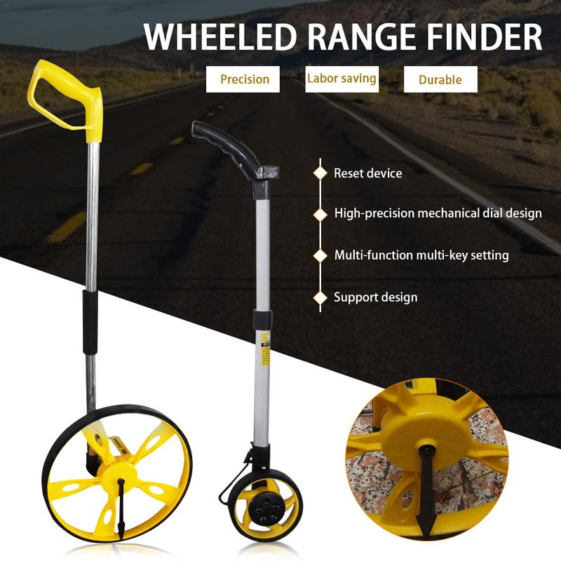 Digital Display Wheel Type Range Finder Mechanical Digital Display Measuring Wheel Meter Measuring Wheel