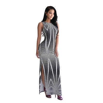 948e0e45545 ... Gogoboi 2018 Summer Casual Women Flower Print Maxi Dress Beach Party  Evening Long Dresses Women Vestido