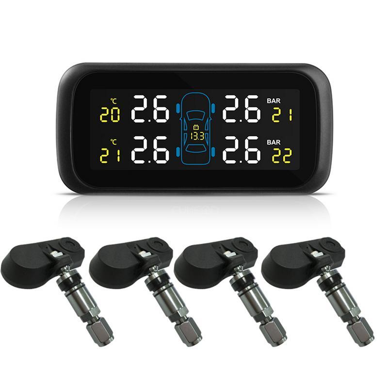 Système universel de surveillance de la pression des pneus sans fil TPMS avec capteurs de batterie remplaçables externes