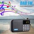 Tragbare Radio Player Empfänger Digitale DAB DAB + FM Radio bluetooth Stereo Lautsprecher Outdoor FM Empfänger Musik Player mit Strap|Radio|   -
