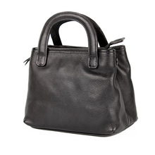 Oil wax Woman tote Vintage Small square package Womens handbag Retro Shoulder Bag Female Vegetable Tanning Crossbody bolsa