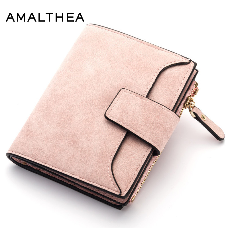 84865324bf3 Women's Leather Wallet Women Purses Sale Ladies Short Hasp Small And Slim  Coin Wallet Female Wallets Cards Holders Women Purse
