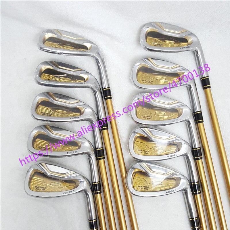 Clubs de Golf honma s-06 4 étoiles fers de GOLF clubs 4-11sw.aw Golf fer club Graphite Golf arbre R ou S flex
