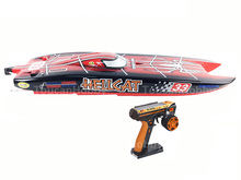 E51 RTR Dual Motors Electric RC Racing Boat W/120A ESC/RadioSys/100kmh/battery Spider Painting