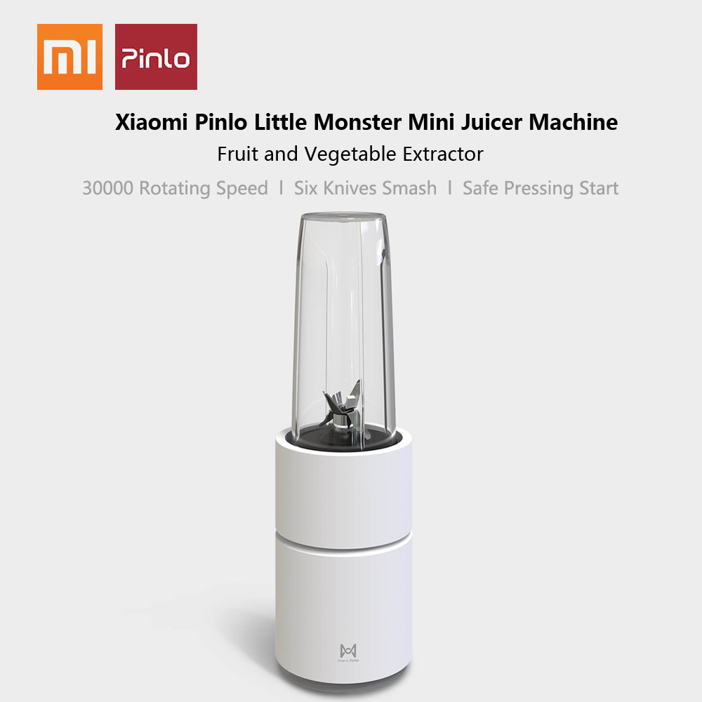 Image 5 - Xiaomi Pinlo Little Monster Fruit Vegetable Cooking Machine Mini Electric Fruit Juicer Fruit Squeezer Household Travel Juicer-in Juicers from Home Appliances
