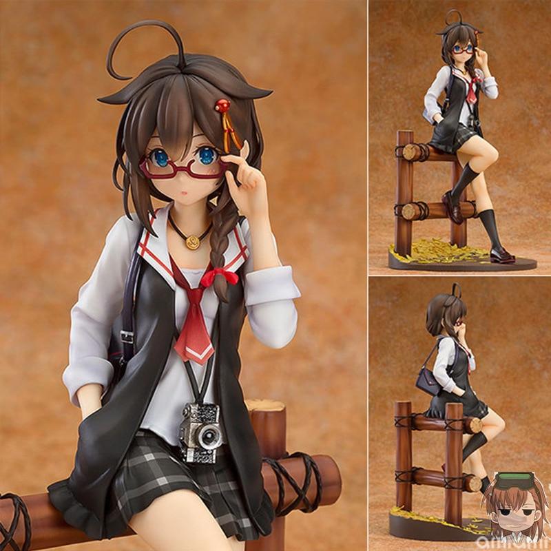 Kantai Collection 21cm Anime KanColle Shigure Ratio PVC Action Figures Toys Anime Figure Toys For Kids Children Christmas Gifts