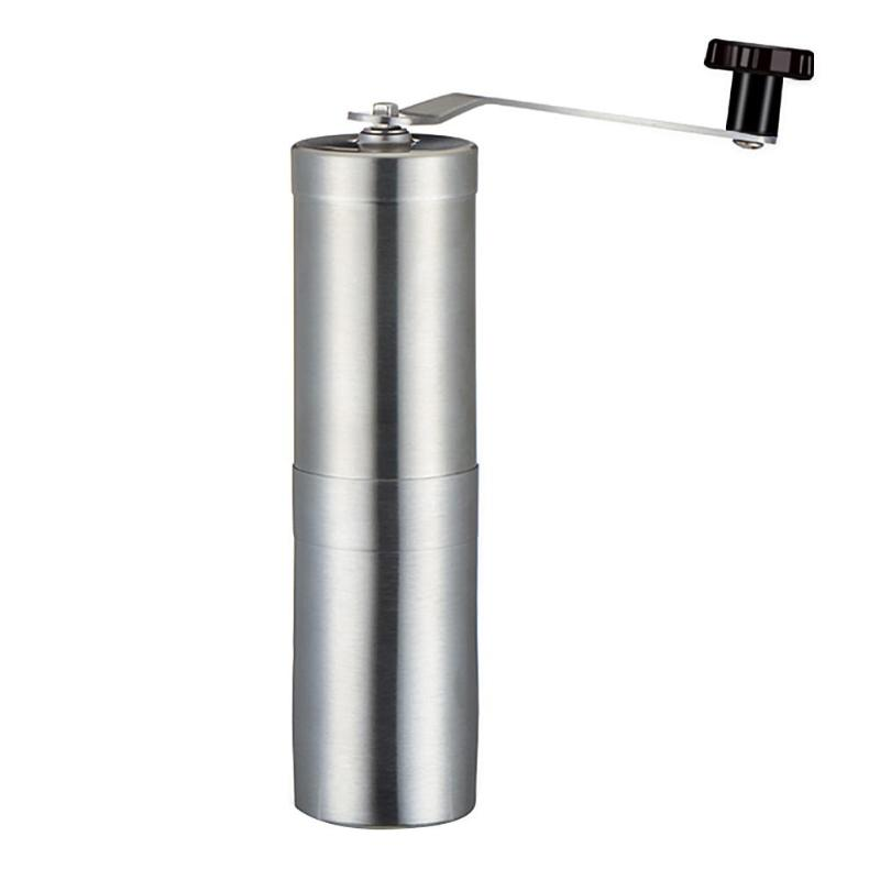 Stainless Steel Manual Coffee Grinder Coffee Beans Powder Hand Burr Mill Grinder Ceramic Corn Coffee Grinding Kitchen Tools
