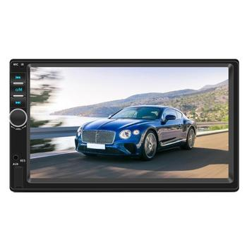VODOOL 7018 2 Din Android 8.1 Car Radio 7 Touch Screen Stereo MP5 Player Autoradio GPS Navi FM WiFi Bluetooth Multimedia Player image