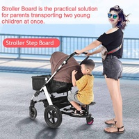 Baby Stroller Standing Board Stopping Plate twins stroller accessory Outdoor Activity Board Stroller baby seat standing Plate