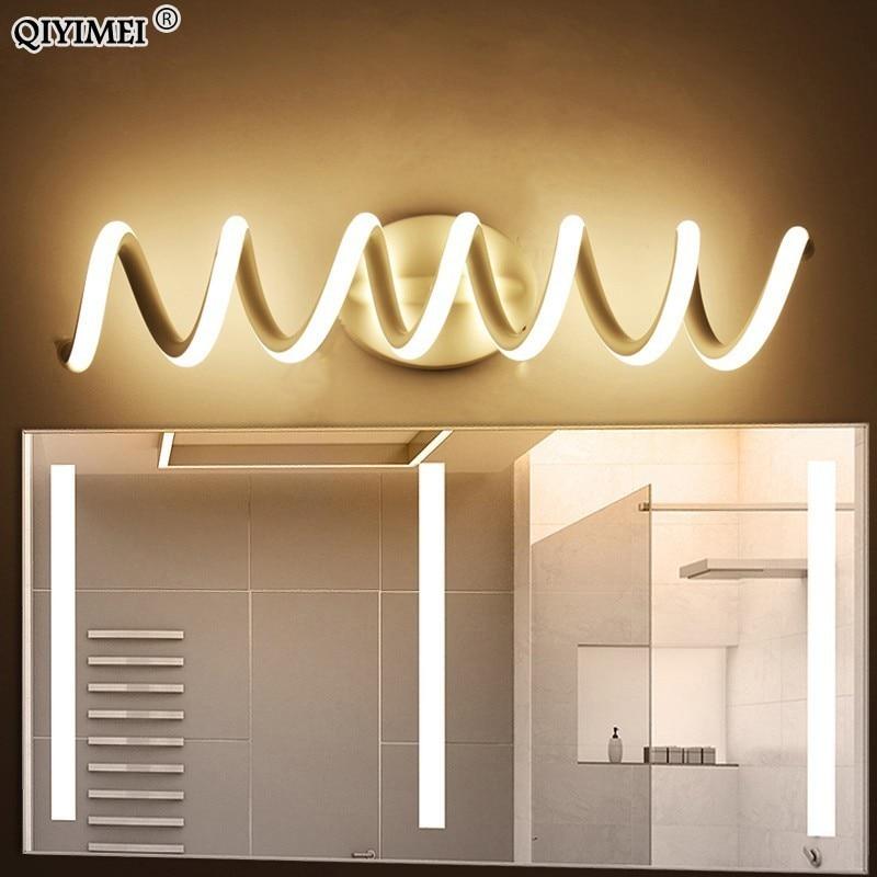 Modern LED mirror light wall lamp Sconce bathroom aluminum indoor Lighting Fixture Wall lights vanity home lamp fixtures