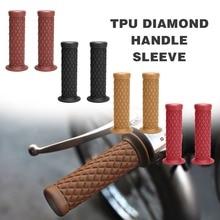Handle Grip Motorcycle 22mm 7/8 TPU Bar Soft Hand For KTM Honda Yamaha Kawasaki Dirt Bike