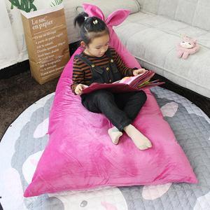 Image 2 - Adeeing子供快適なウサギの耳のデザインのためのおもちゃ収納読書睡眠