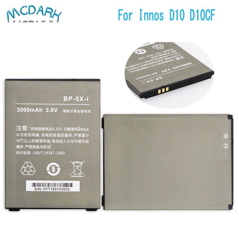 For Innos D10 Battery For Highscreen Boost 2 Ii Se Accumulator For Innos D10cf 3000mah Bp-5x-i