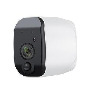 Image 4 - JIENUO Batterie WiFi Kamera 1080 p Volle HD Wiederaufladbare Powered Outdoor Indoor Sicherheit IP Cam 110 Weiten Blickwinkel wireless 2 weg