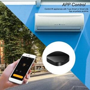 Image 5 - WiFi IR télécommande IR Hub WiFi activé infrarouge télécommande universelle pour climatiseur TV en utilisant lapplication de vie intelligente Tuya