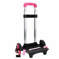 Travel Accessories 3 Wheels&2 Wheels Rolling Cart Removable Trolley Kids Schoolbag Luggage Wheels for Trolley School Bags
